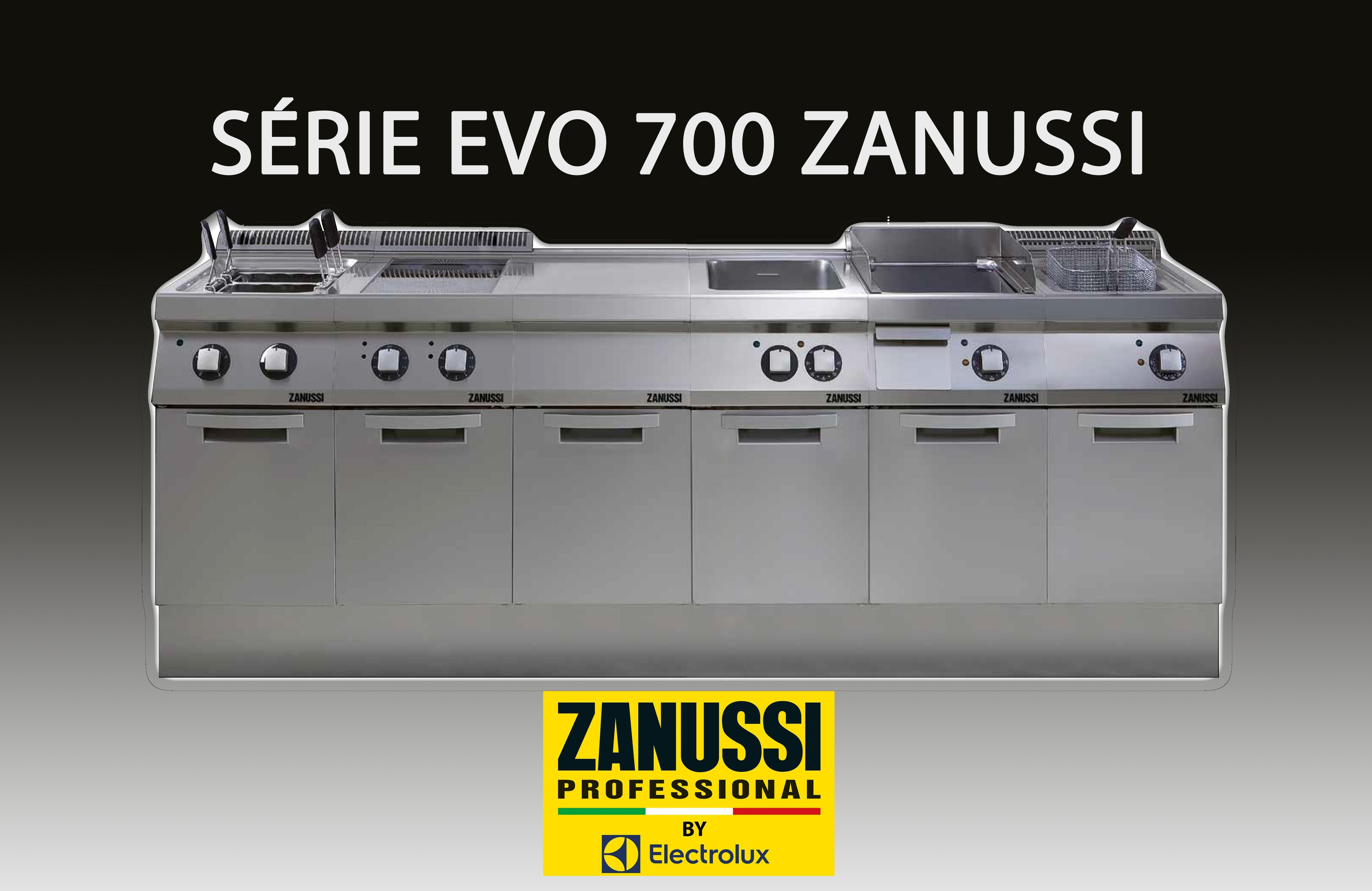 Modules de cuisson Pro Série 700 Zanussi à poser sur meuble | Materiel-horeca | Achat en ligne
