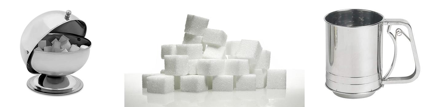 Sucrier | Saupoudreuse | Materiel-Horeca | Achat en ligne