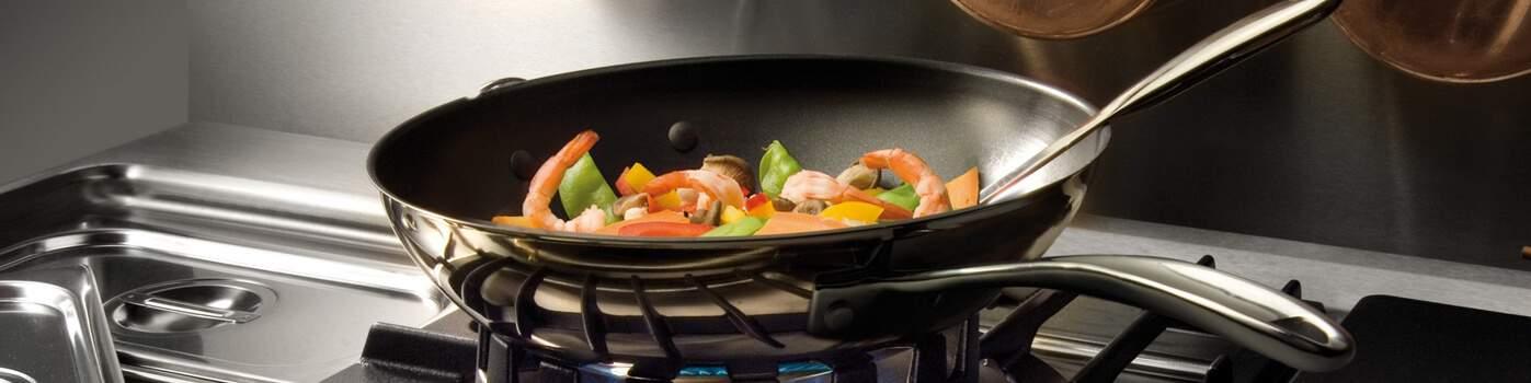 Wok | Acheter en ligne au meilleur prix | matériel horeca & ustensile de cuisine