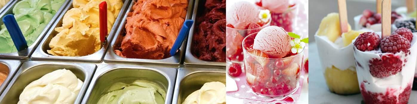 Couvert pour la crème glacée