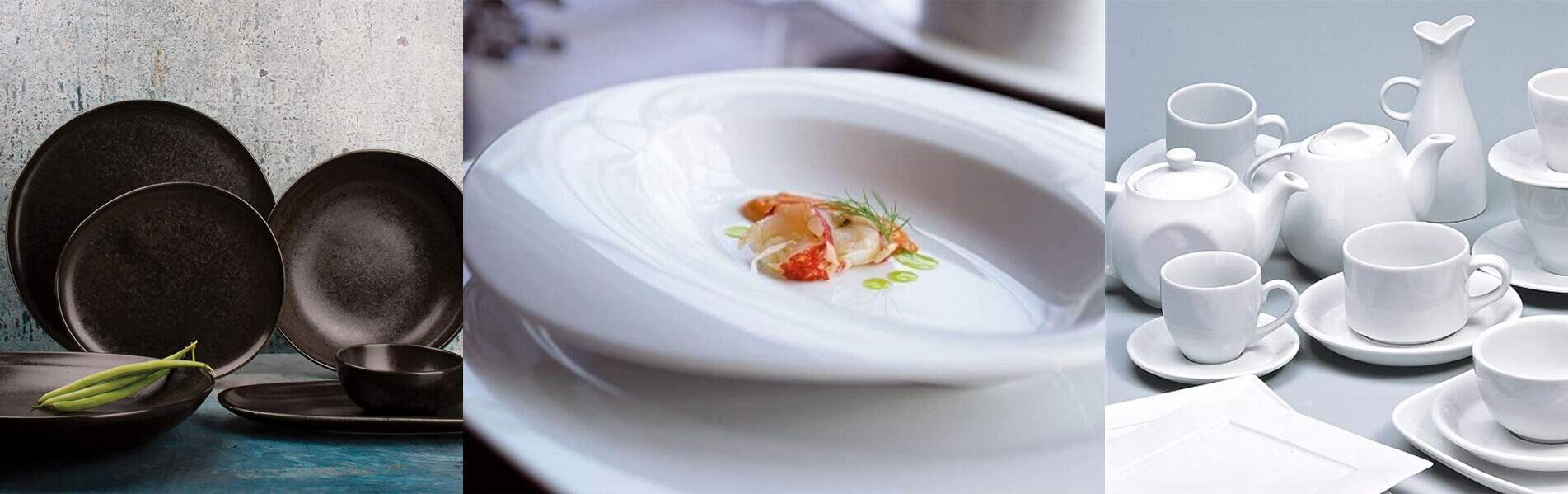 Série d'assiettes pour l'horeca | Acheter en ligne au meilleur prix | matériel horeca & ustensile de cuisine