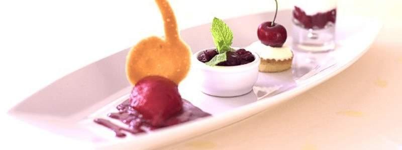 Assiette pour les desserts