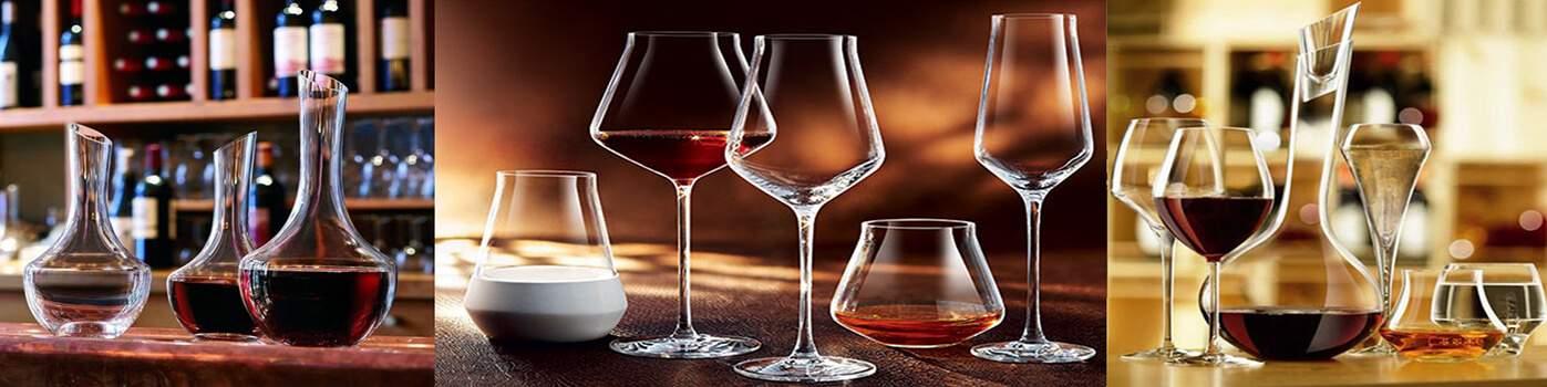 Verres à vins blancs ou rouges