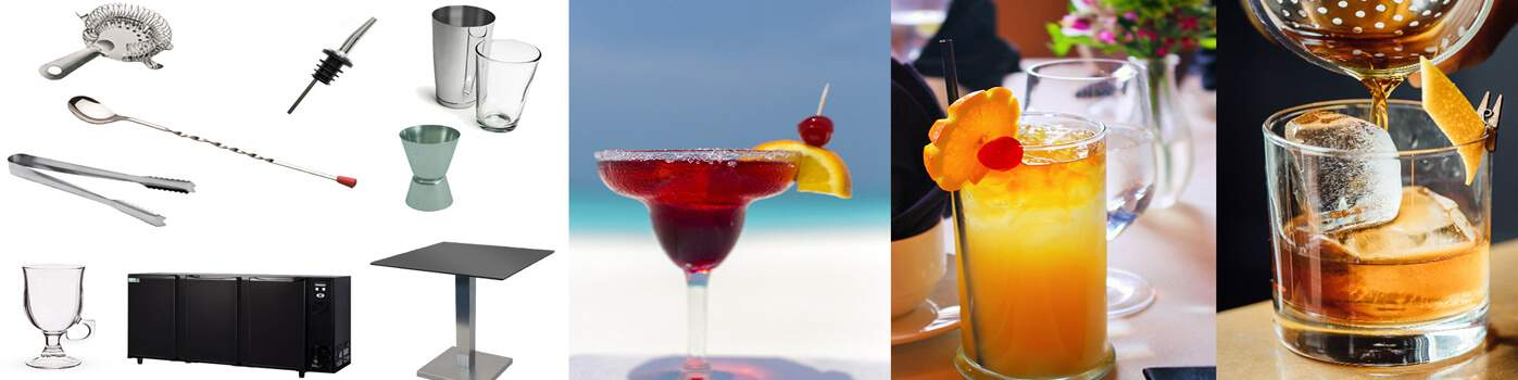 Verres spéciaux pour cocktail