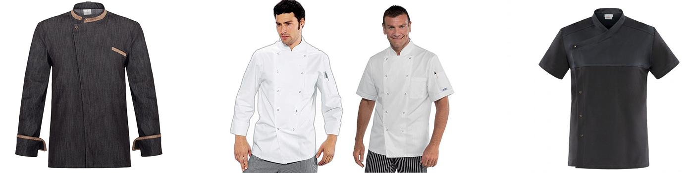Veste de cuisine professionnelle | Acheter en ligne au meilleur prix | matériel horeca & ustensile de cuisine